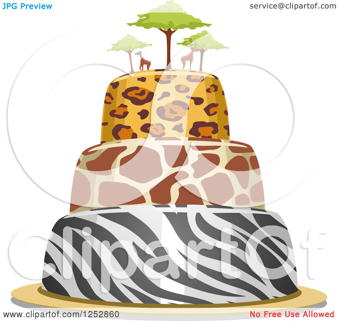 royalty free rf clipart of animal prints illustrations vector