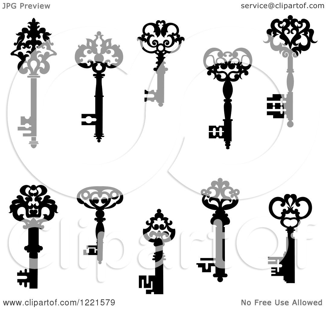 Keys 2 Royalty Free Vector Illustration By Seamartini Graphics