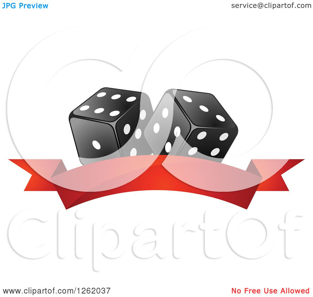 Casino Dice Clip Art
