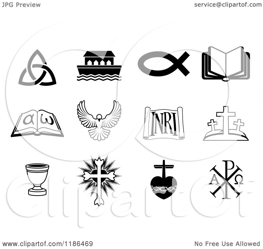 christian clipart free black and white - photo #50