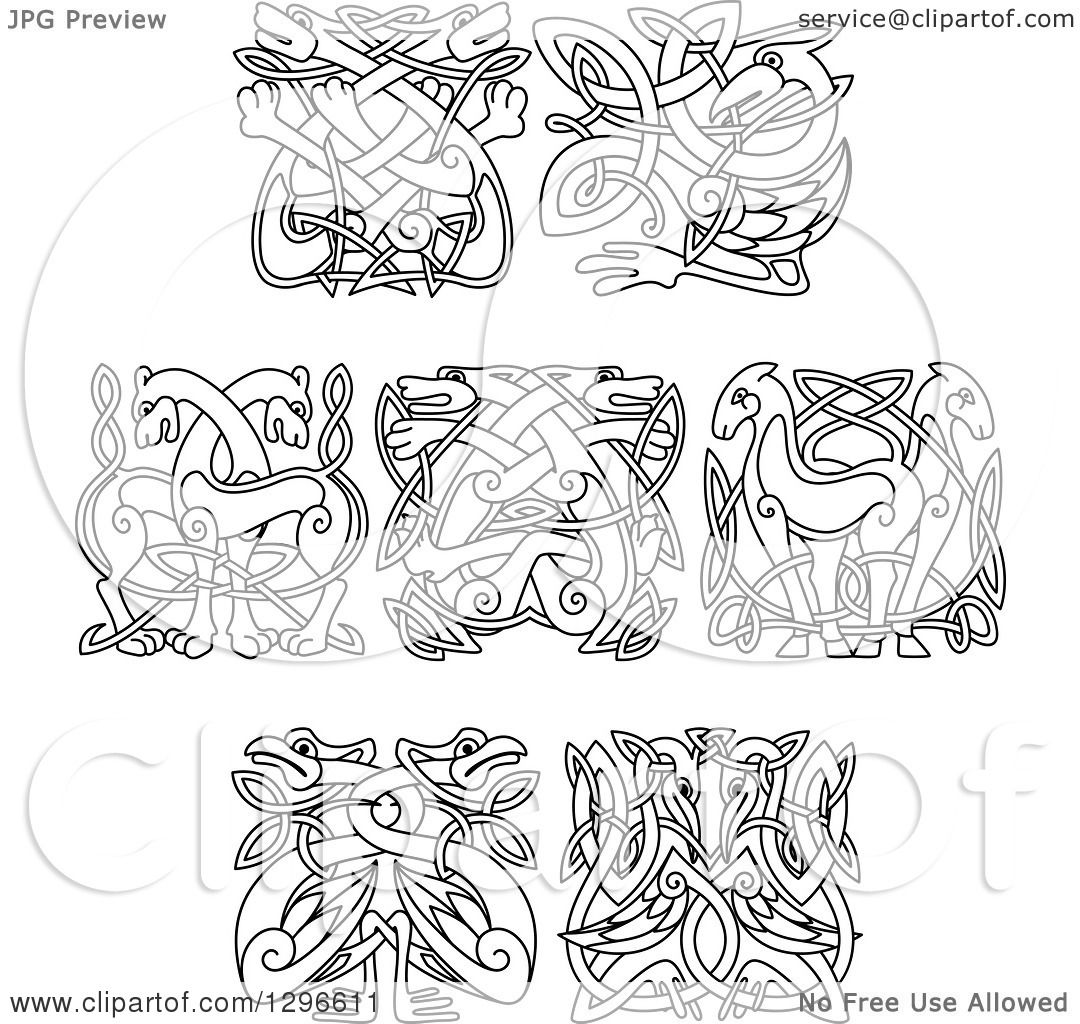 clip art celtic animals - photo #7