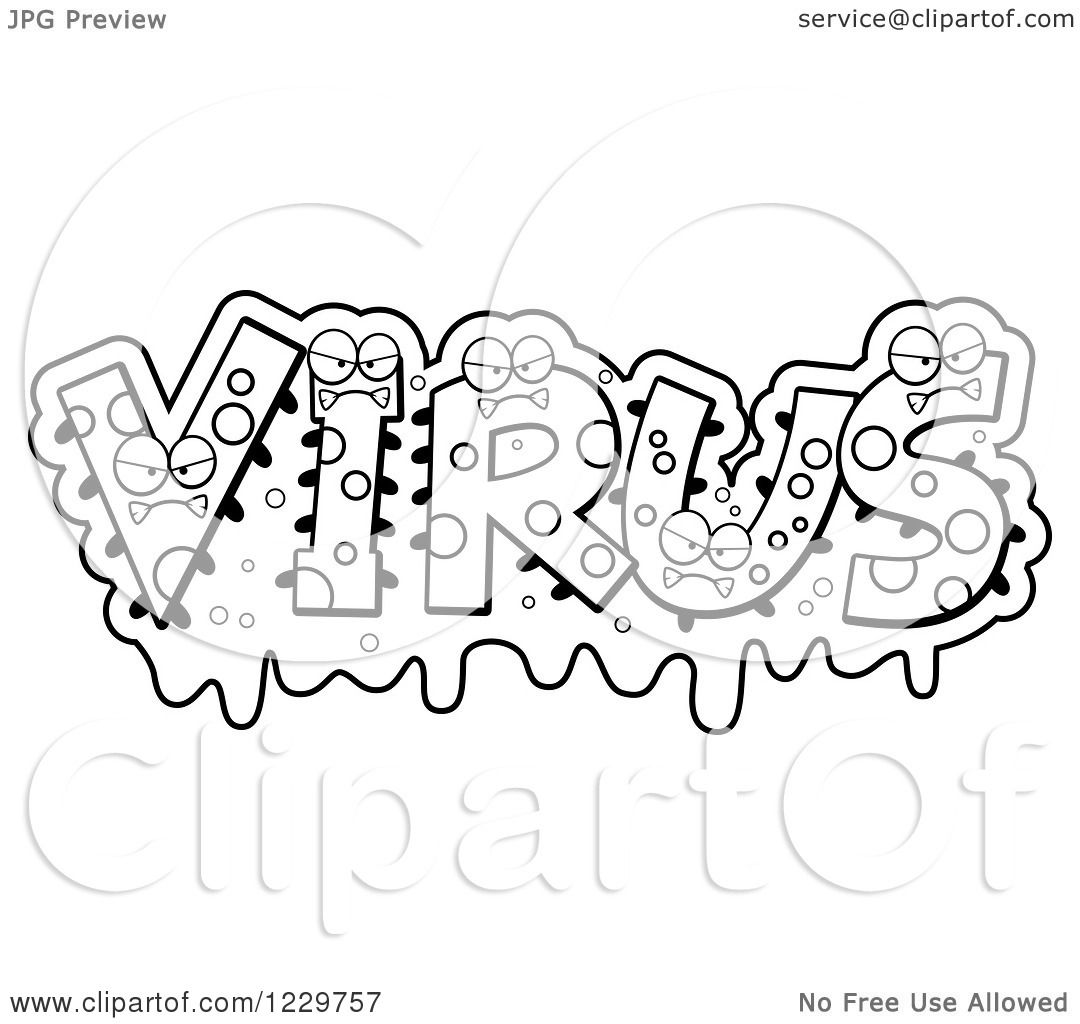 Long vowel coloring sheet - Collection Of Virus Coloring Worksheet Sharebrowse