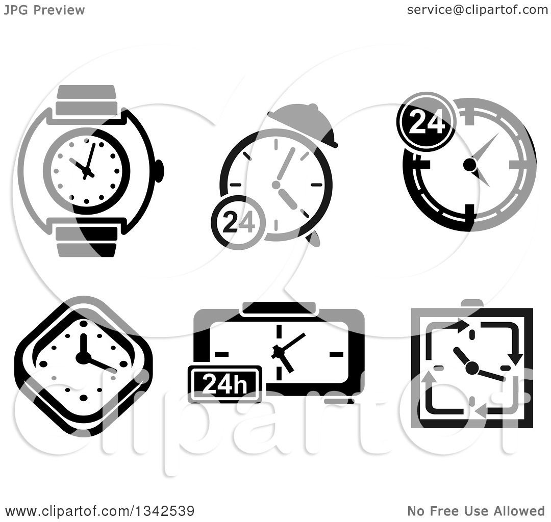 clipart of watches and clocks - photo #22