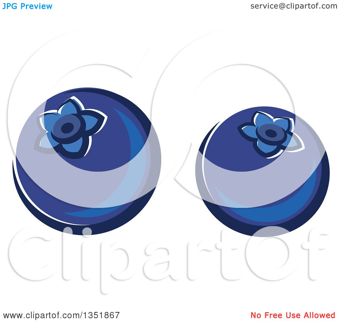 Cartoon Blueberry With Face Images & Pictures - Becuo