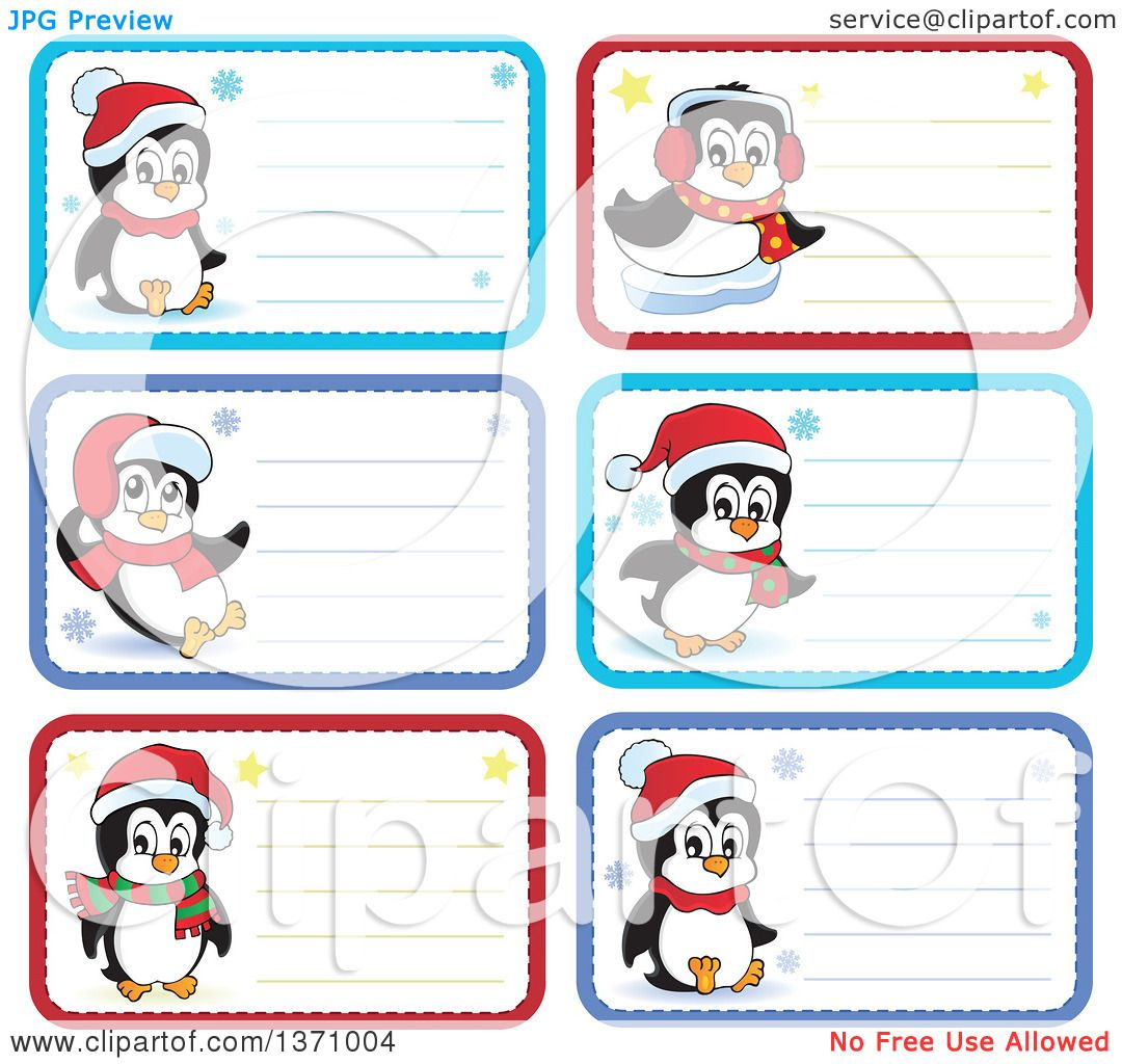 Clipart of Christmas Gift or Name