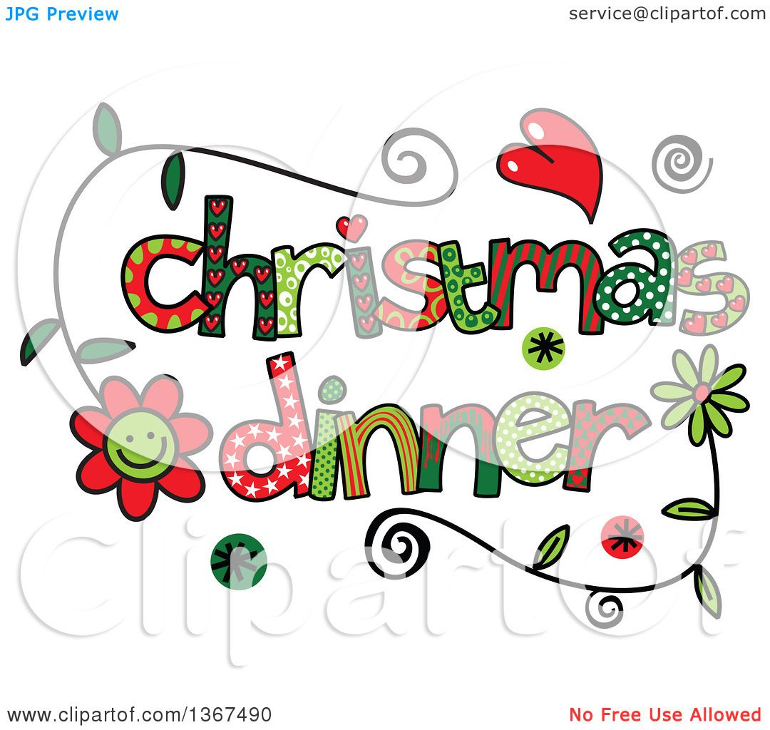 clipart christmas dinner pictures - photo #33