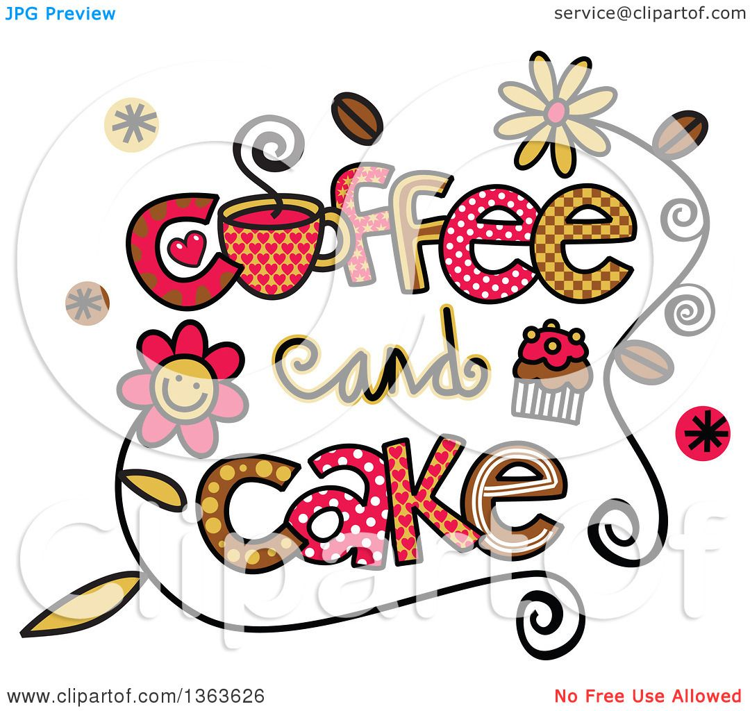 Clip Art Cake And Coffee : Image Coffee And Cake Clip Art Free Download