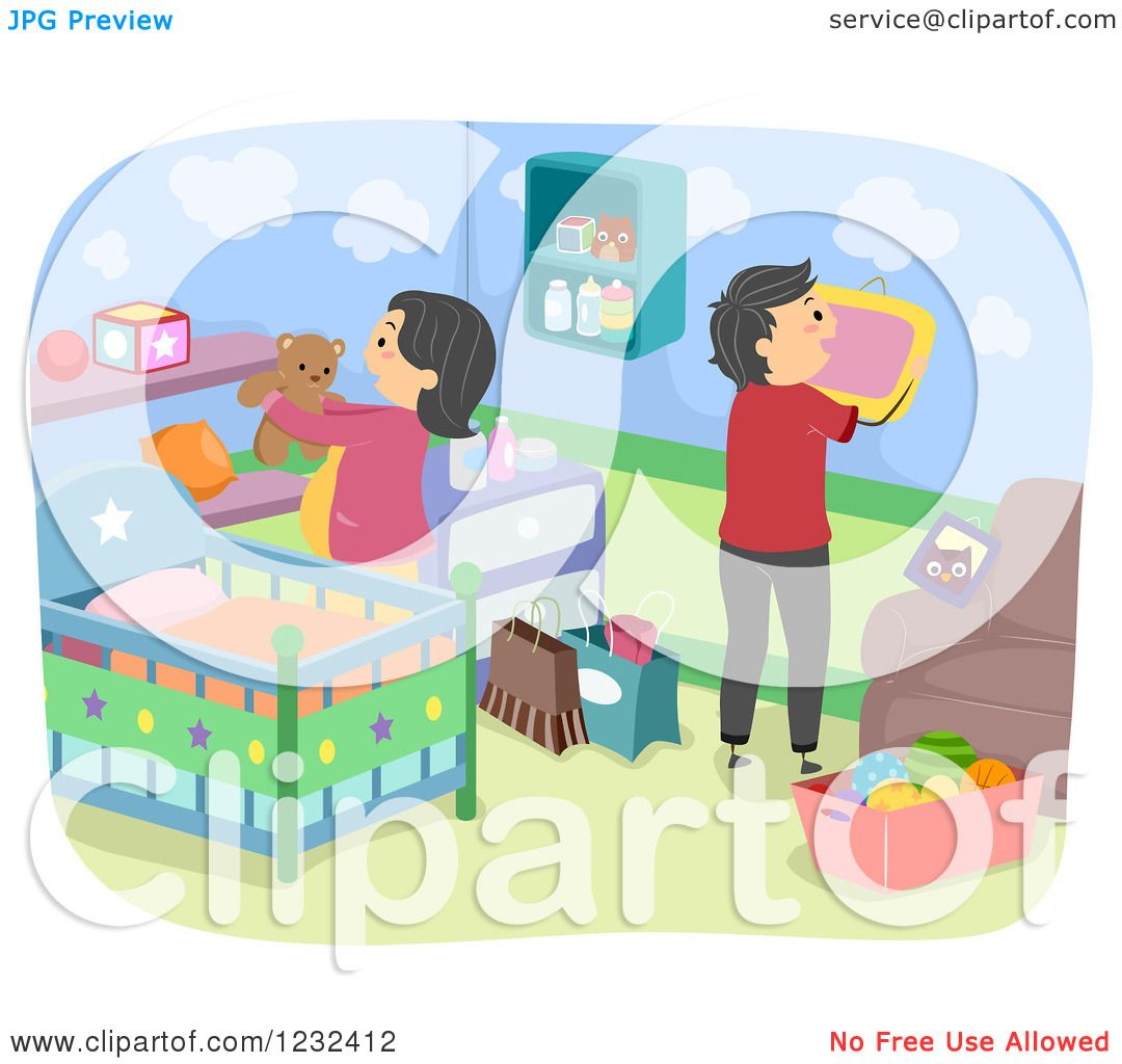 Expecting A Baby Clipart Clipart of Expecting P...