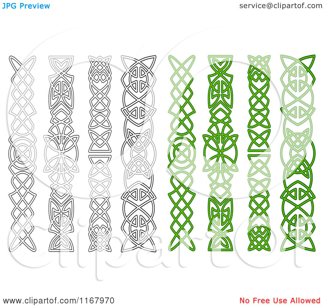clipart of green and black and white celtic knot tattoo designs royalty free vector. Black Bedroom Furniture Sets. Home Design Ideas