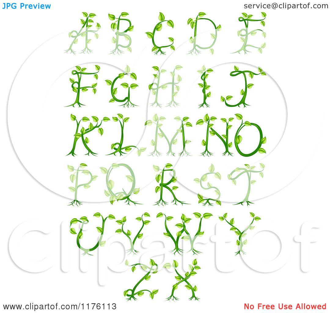 ... Royalty Free Vector Illustration by AtStockIllustration #1176113: www.clipartof.com/portfolio/geoimages/illustration/green-vine...