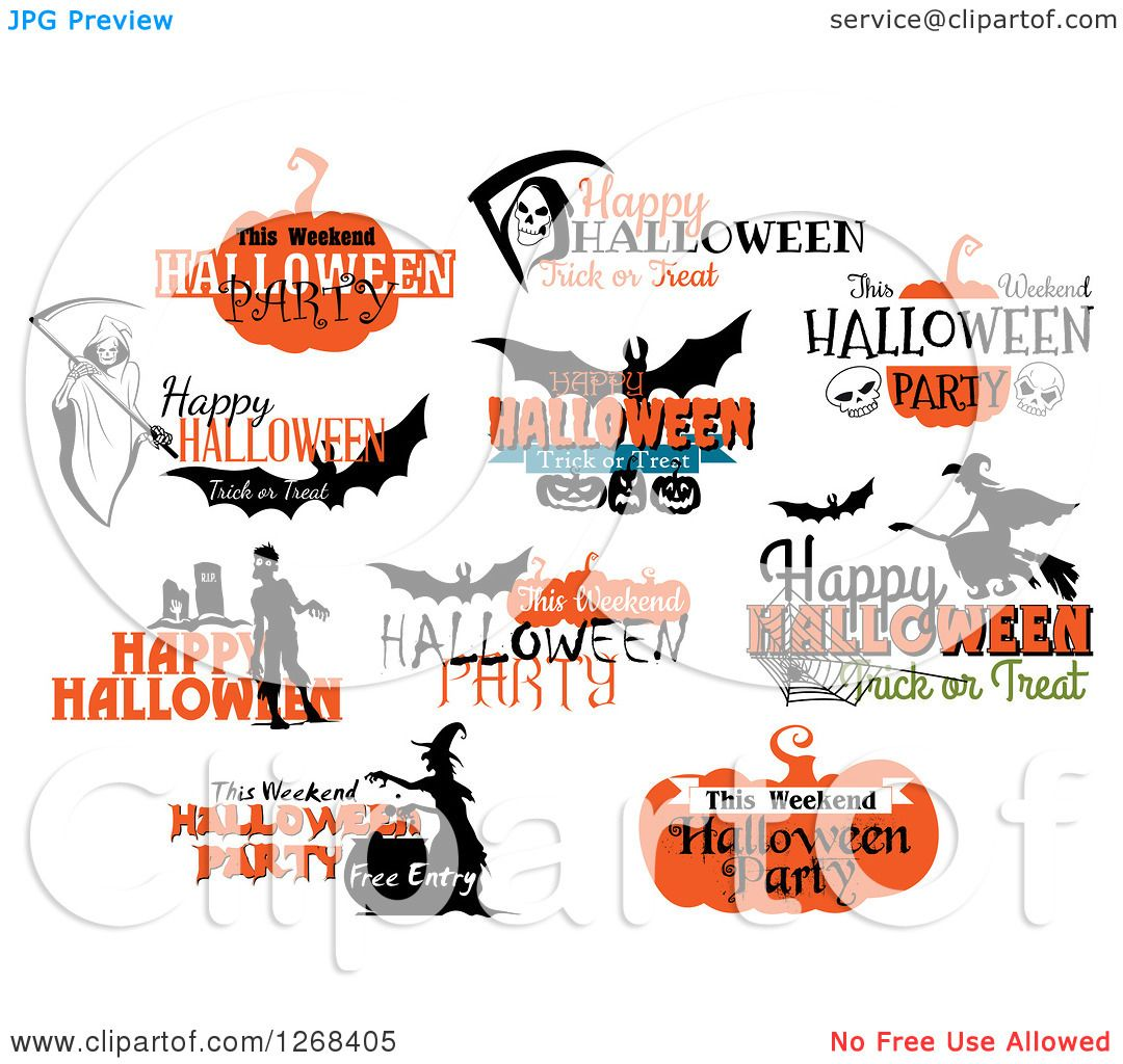 Clipart of halloween greetings royalty free vector illustration by clipart of halloween greetings royalty free vector illustration by vector tradition sm m4hsunfo
