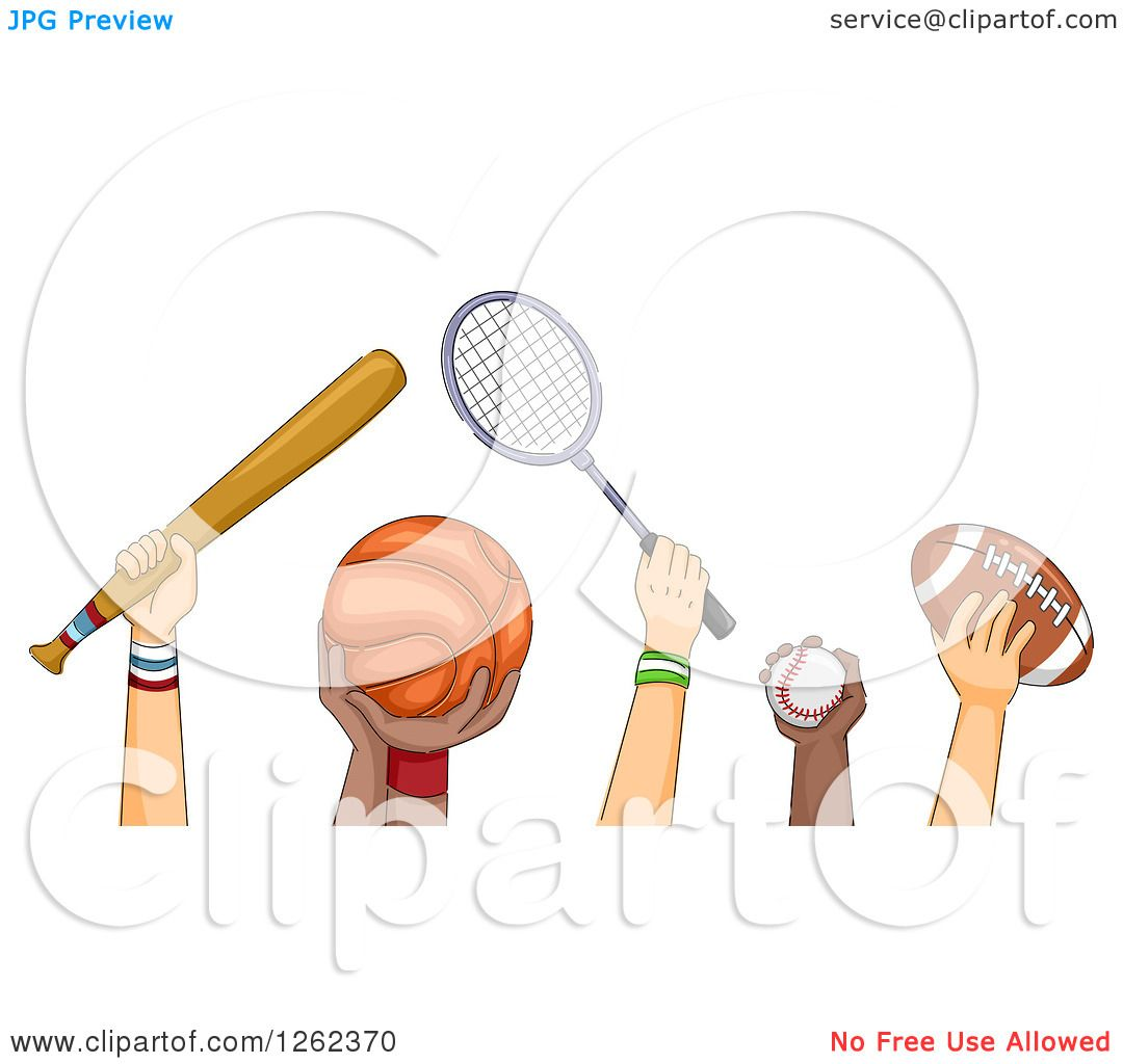 free clipart of sports equipment - photo #30