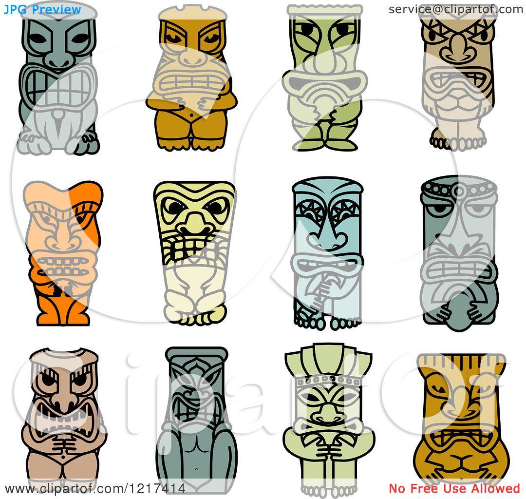 Displaying 19> Images For - Tribal Tiki Mask...