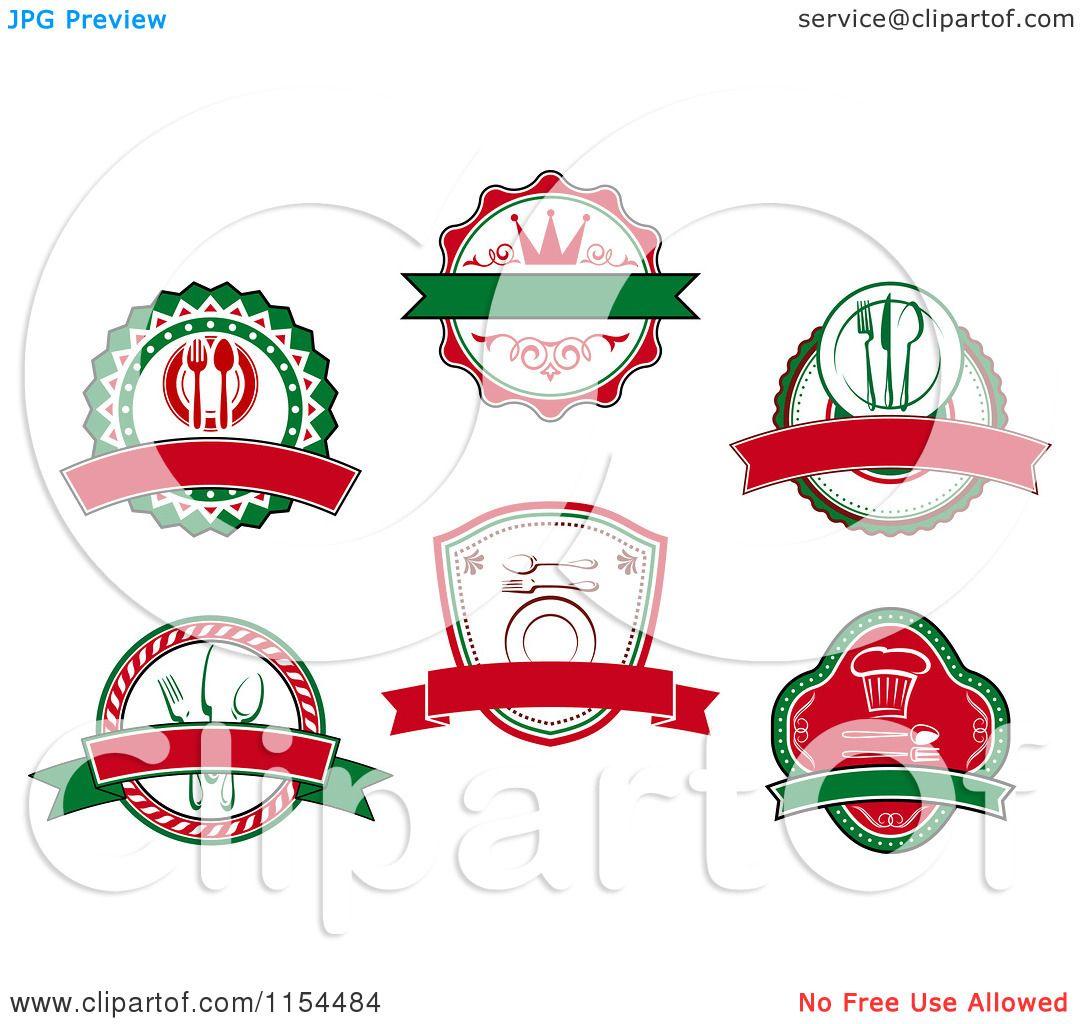 Italian Restaurant Logo Clipart Clipart of Italian Restaurant
