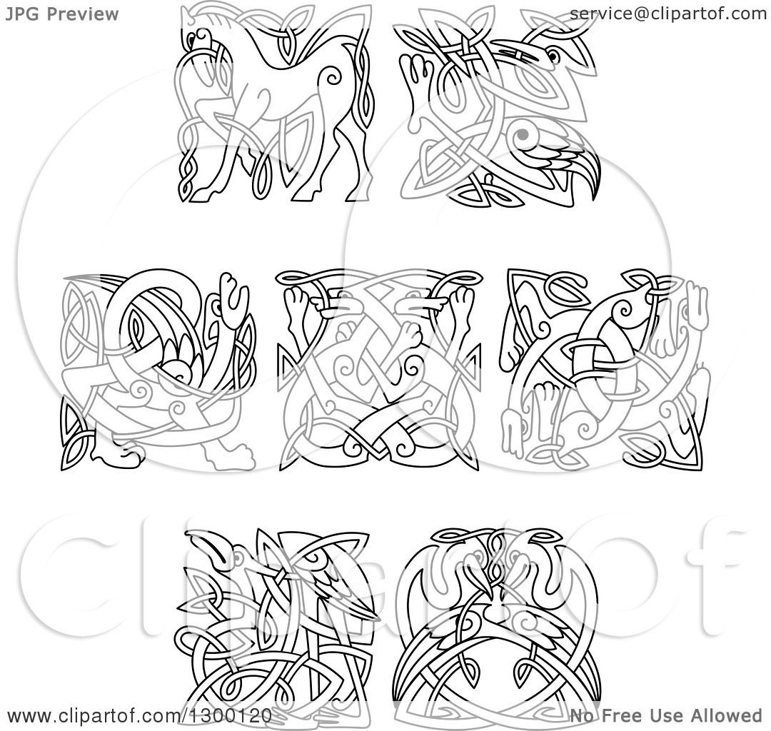 clip art celtic animals - photo #10