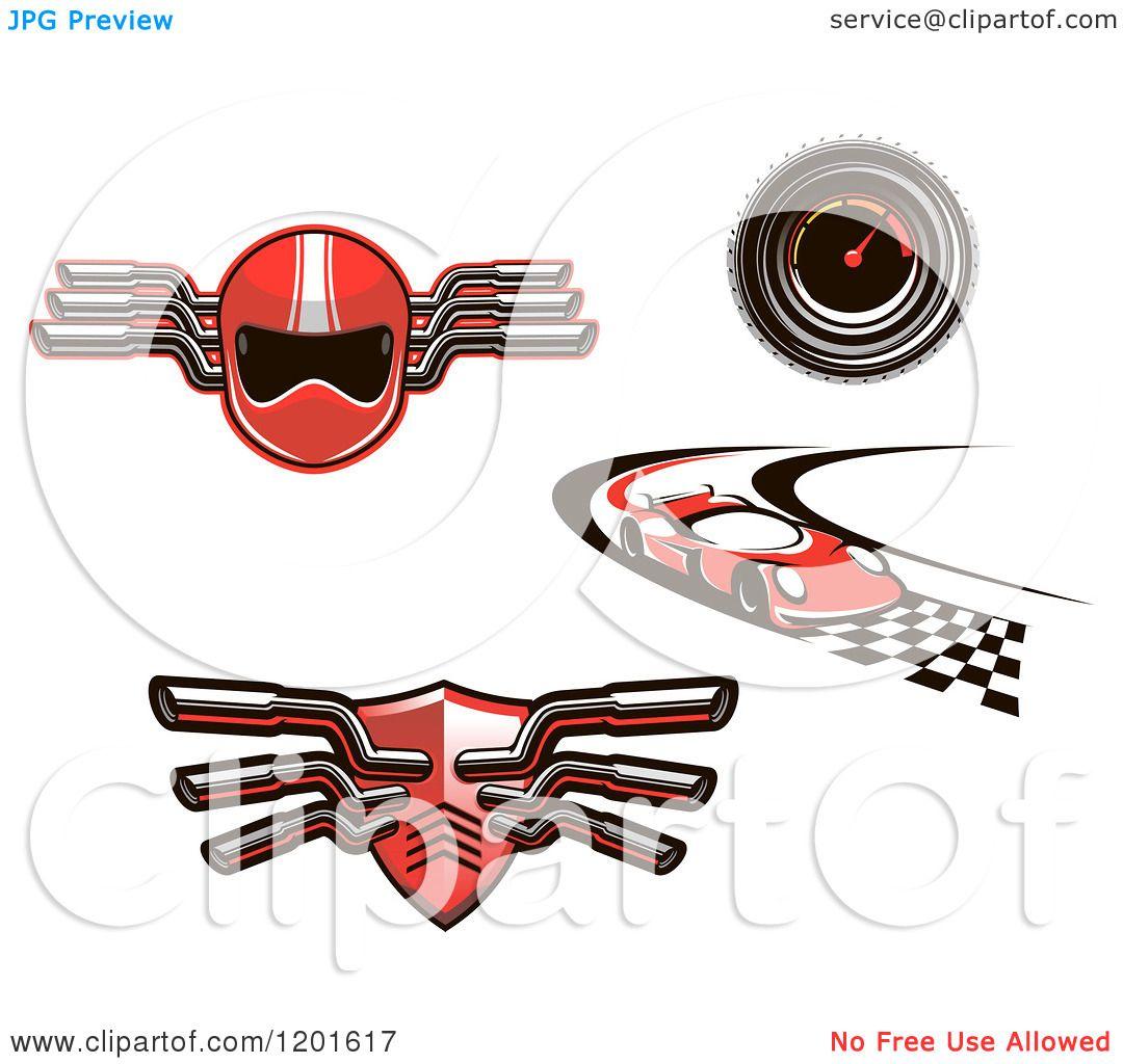 Red muffler 3d - 4 1