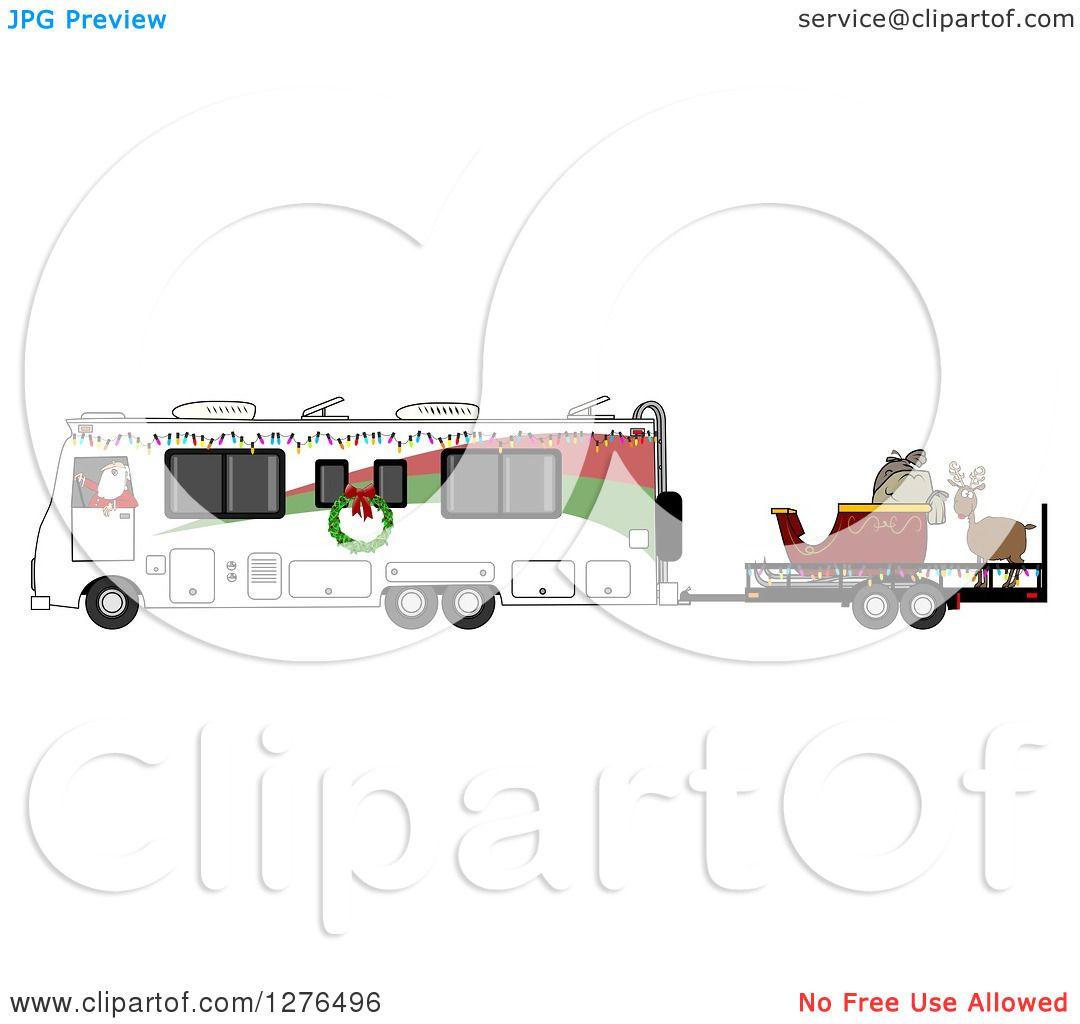 1080 x 1024 jpeg 130kB, Colour Santa On His Sleigh   New Calendar ...