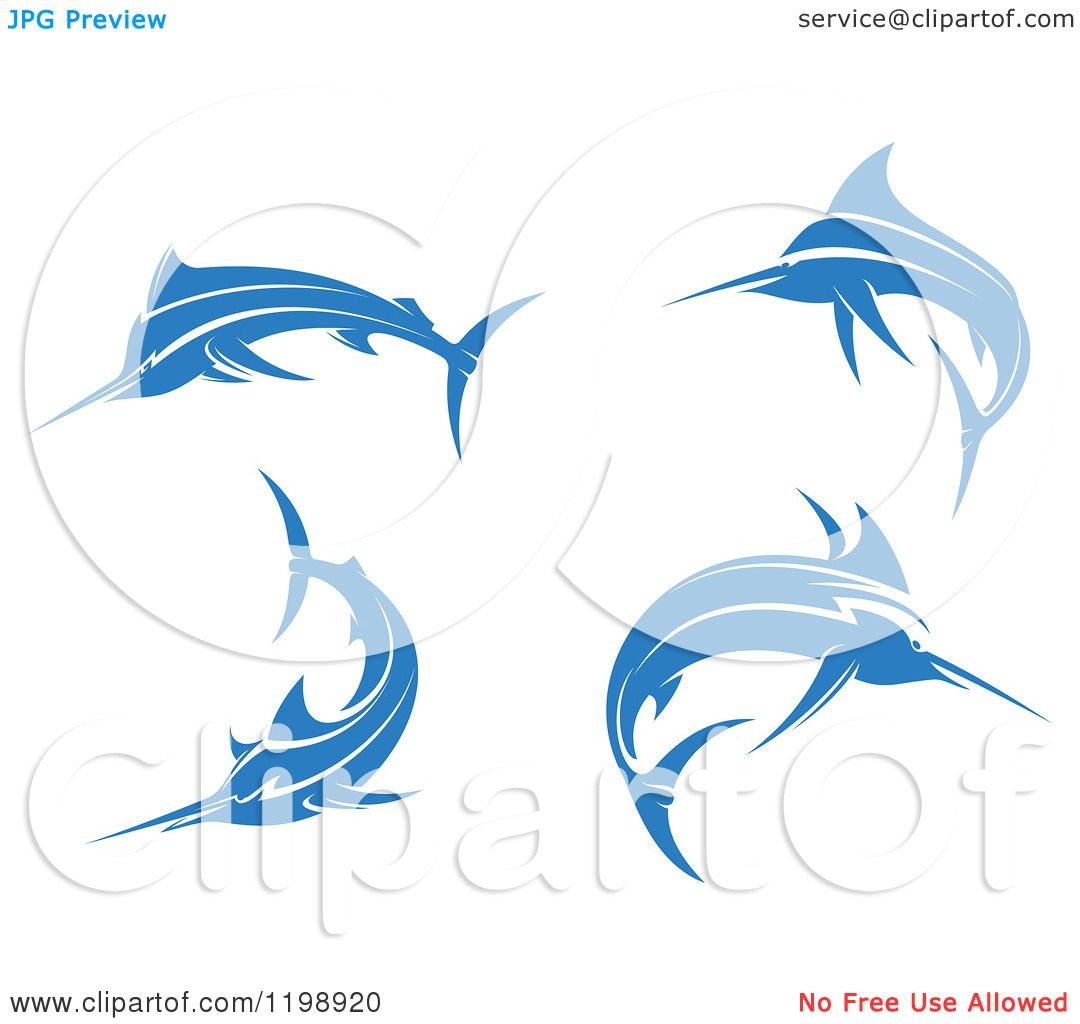 Free Coloring Pages Of Blue Marlin Fish