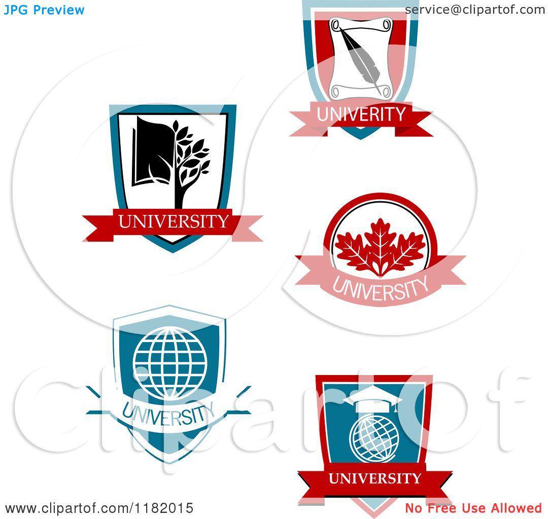 Clipart of University or University Logo Vector