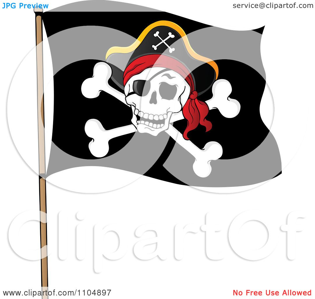 clipart pirate flag - photo #34