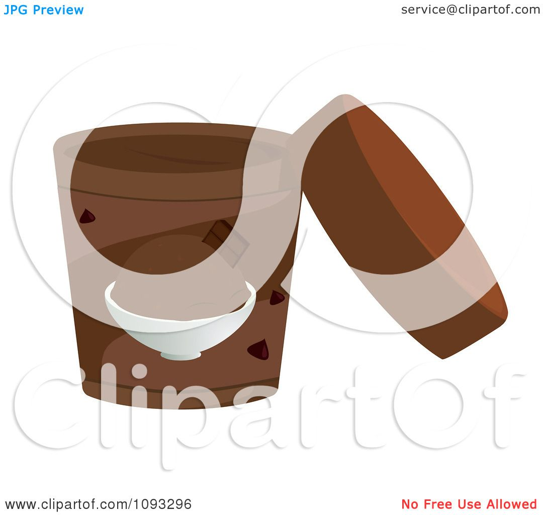 Ice Cream Sandwich Clip Art Clipart open container of