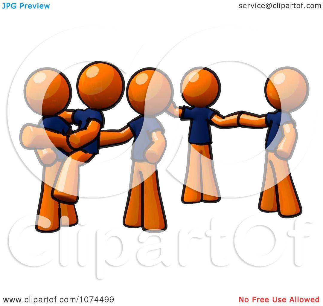 clipart orange man instructing a dance team royalty free rh clipartof com School Dance Clip Art dance drill team clipart