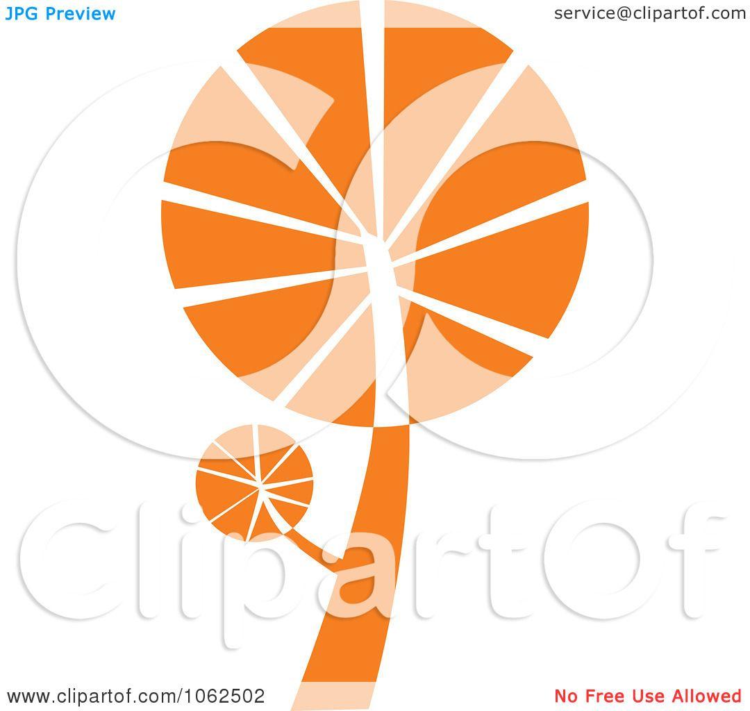 Clipart Orange Tree Logo 1 - Royalty Free Vector ...  Clipart Orange ...