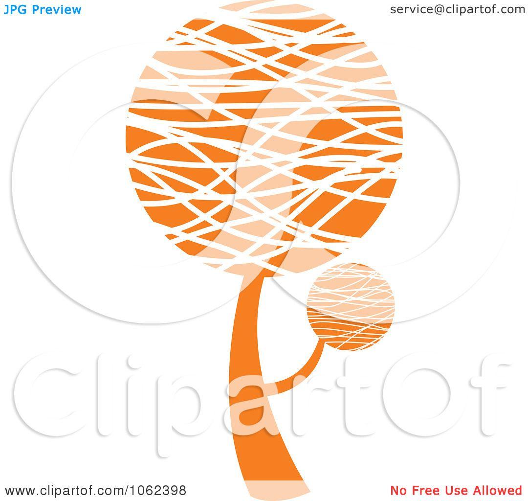 Clipart Orange Tree Logo 4 - Royalty Free Vector ...  Clipart Orange ...