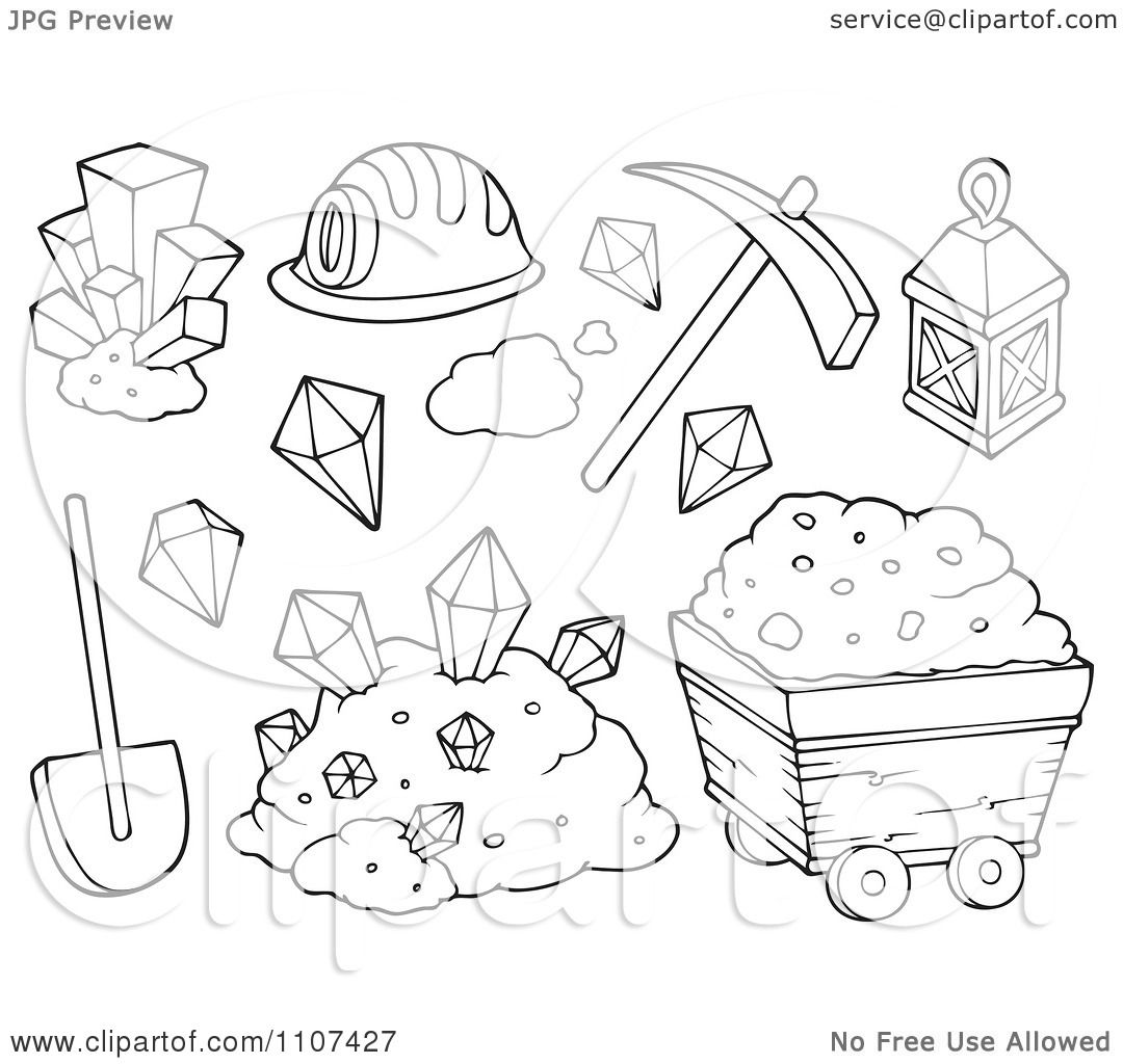 oil mining coloring pages - photo #13