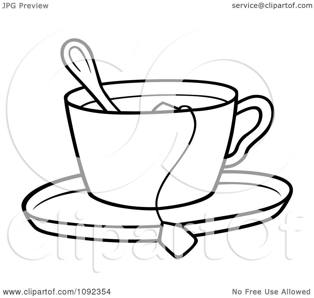 tea kettle coloring page - tea pot tea cup free coloring pages