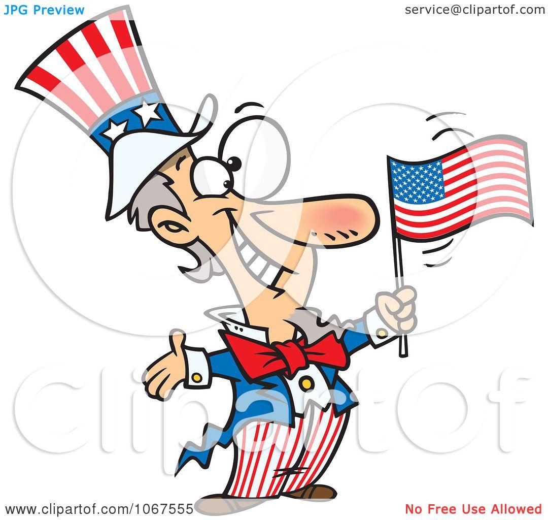 clipart patriotic uncle sam royalty free vector illustration by rh clipartof com Free Patriotic Clip Art Free Grandparents Day Clip Art