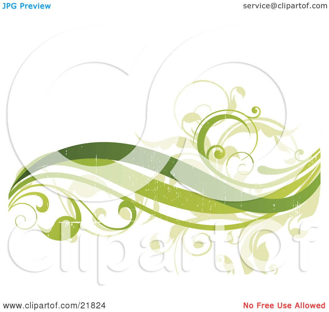 green wave clip art - photo #49