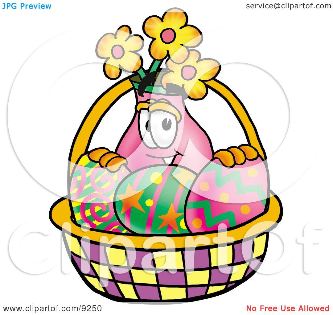 Cartoon Characters Easter Baskets : Vase cartoon