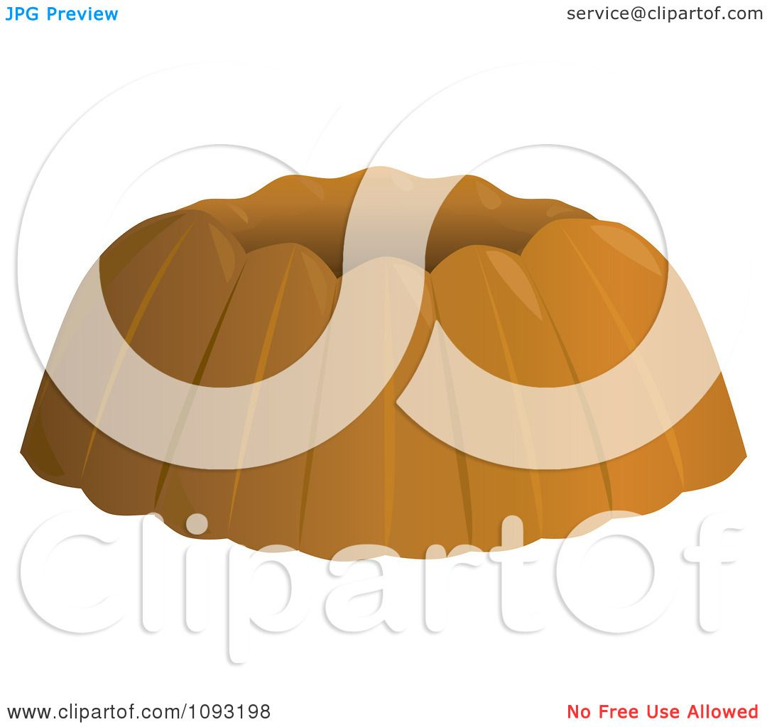 Gallery For > Bundt Cake Clipart