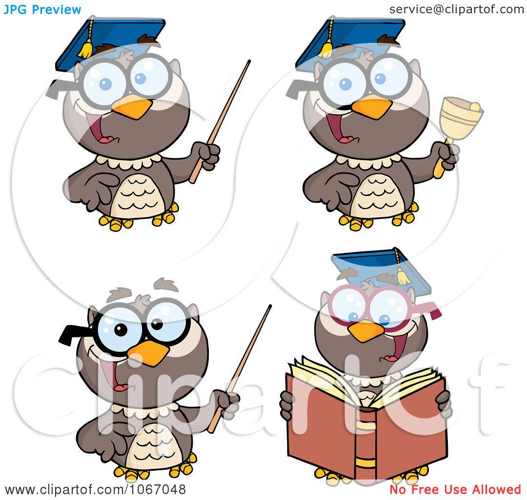 owl professor clipart - photo #33