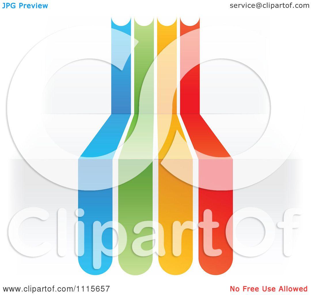rainbow line clipart - photo #45