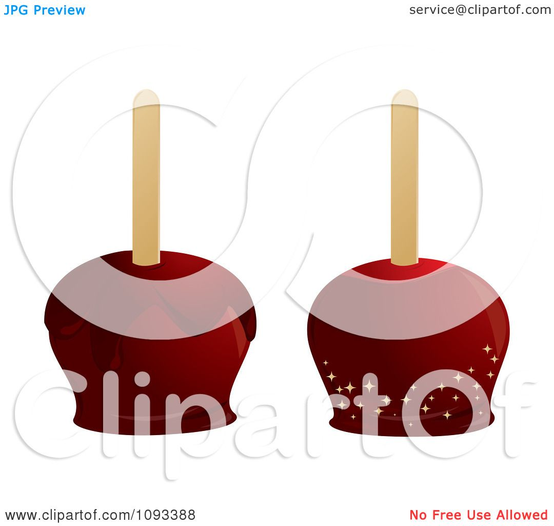 Candy Apples Clipart Clipart Red Candied Apples