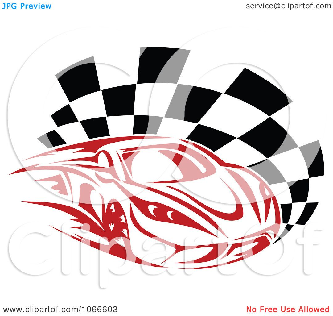 Red Racing Car Clipart Clipart Red Race Car And