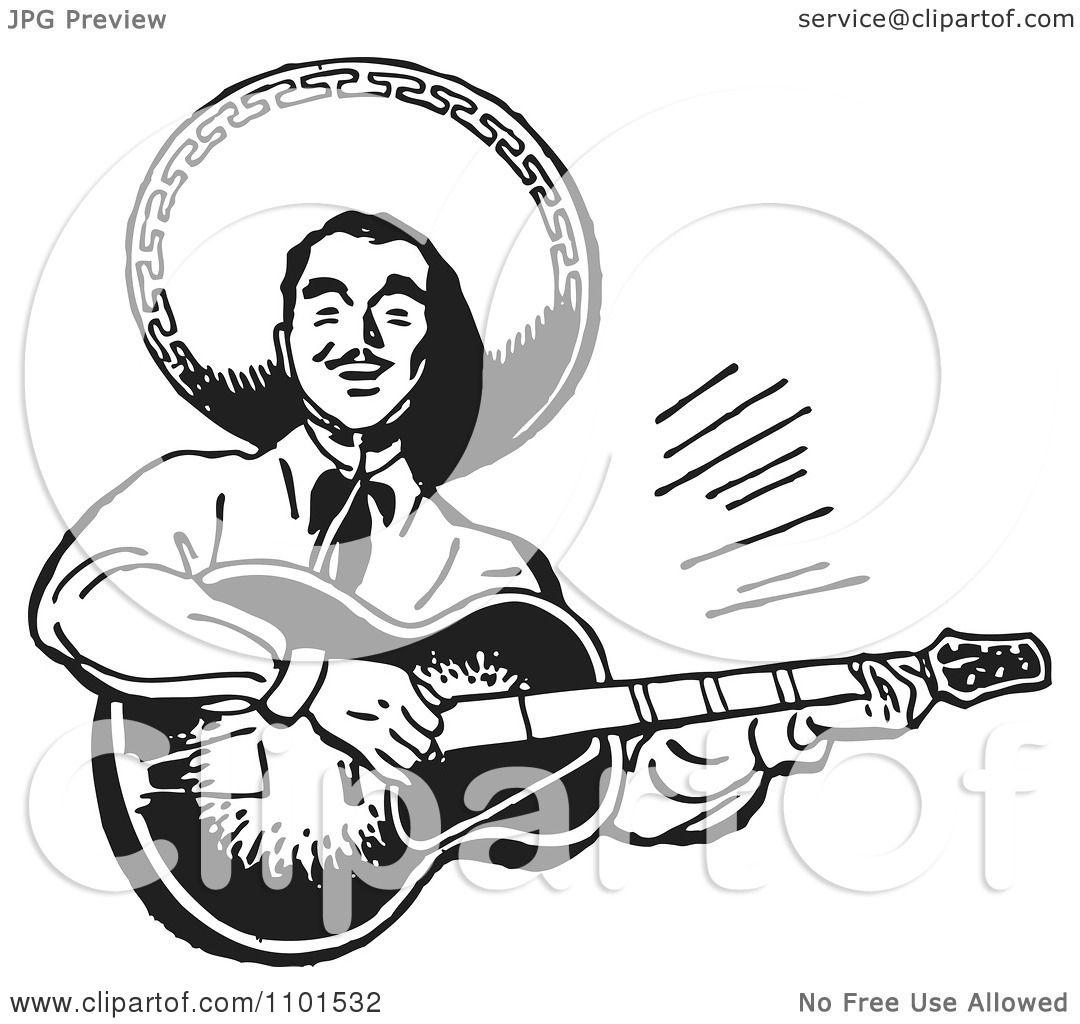 Mexican Mariachi Guitarist