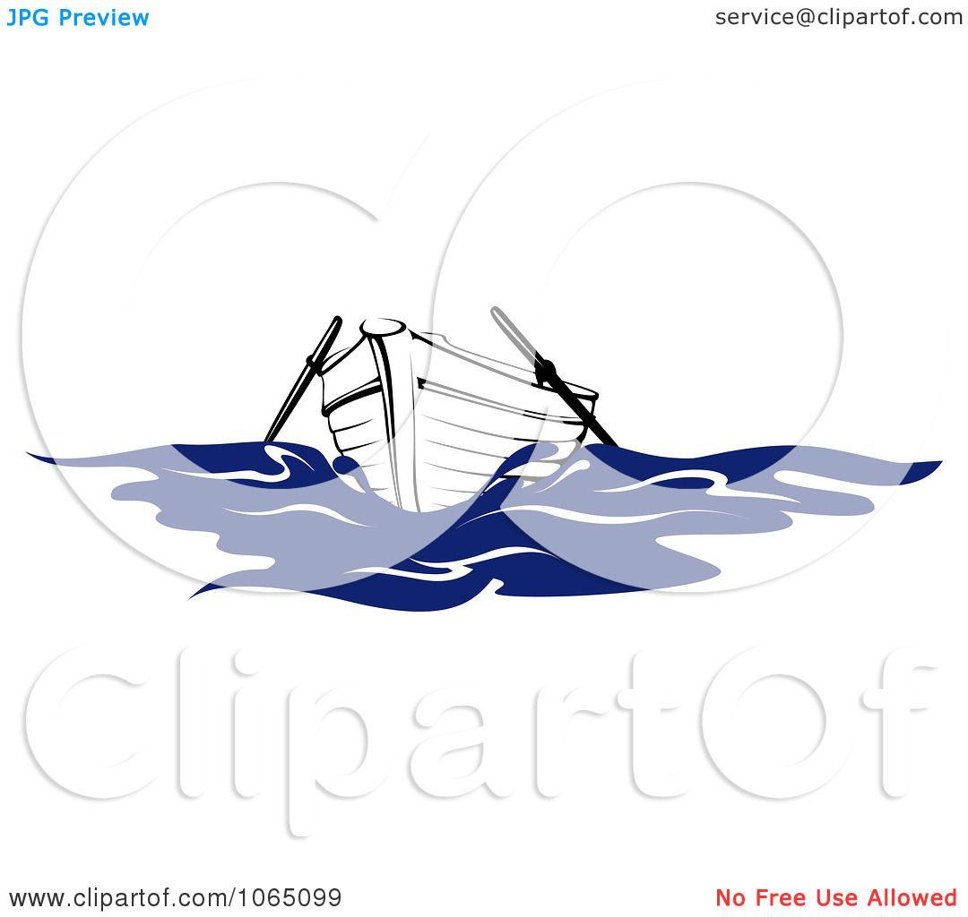 Row Boat Illustration Clipart Row Boat Royalty