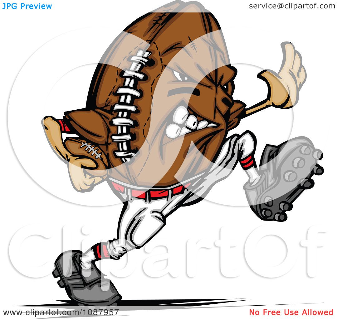 football mascot clipart free - photo #7