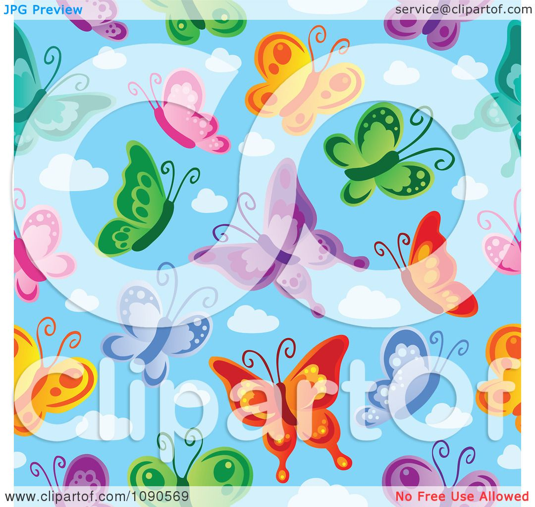 clipart colorful seamless - photo #43