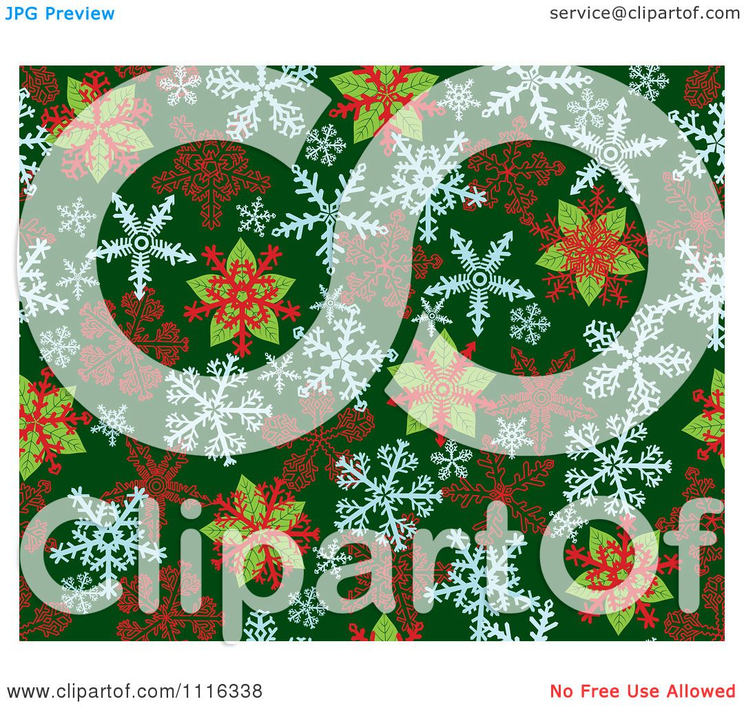 Poinsettia Pattern Stained Glass Clipart seamless poinsettia