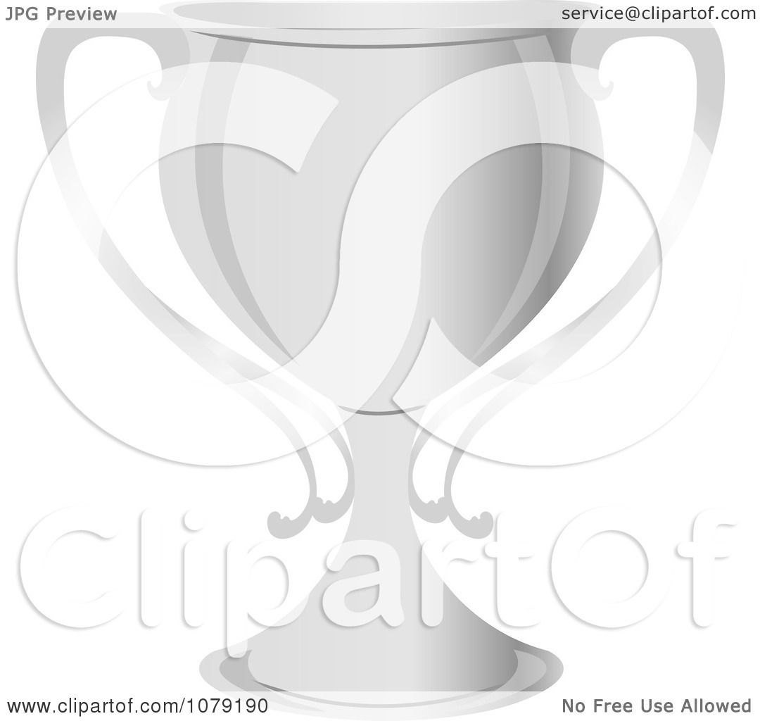 Clipart Silver Trophy Cup
