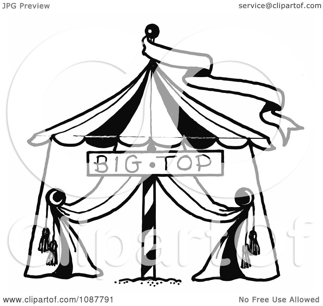 circus banner coloring pages - photo#25