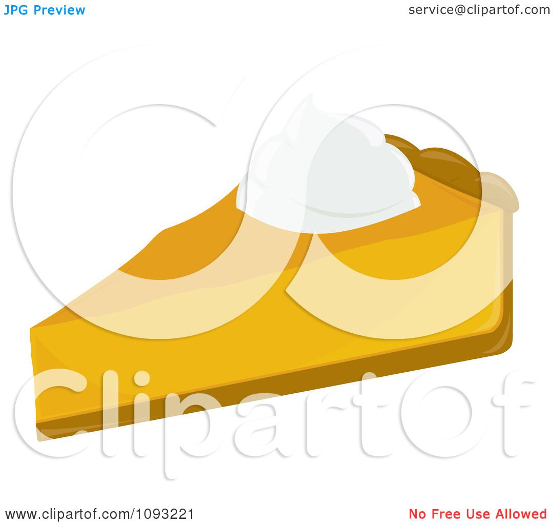 Pumpkin Pie Clipart Free Clipart Slice of Pumpkin Pie 2