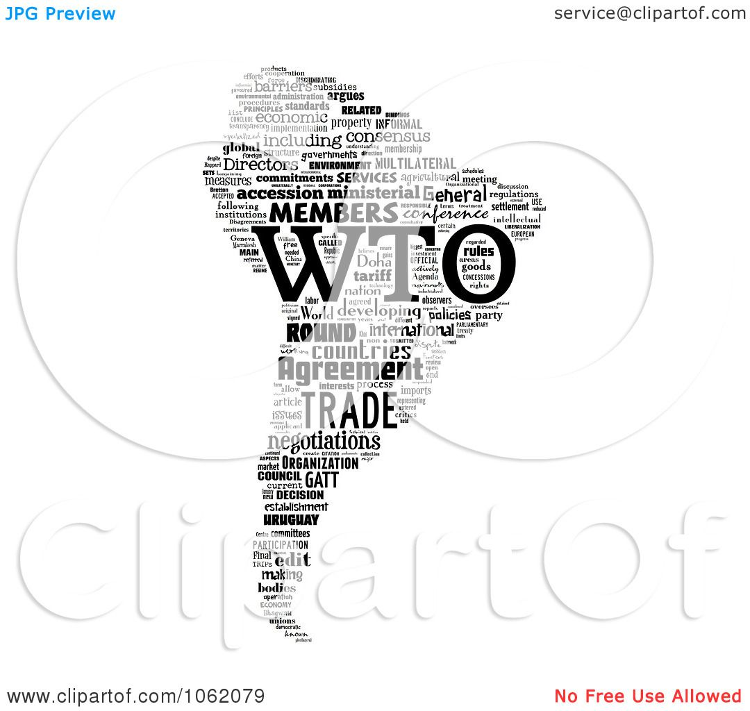 Clipart South America World Trade Organization Word