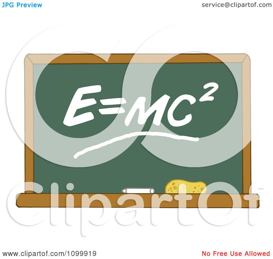 Clipart the mass energy equivalence equation e equals mc