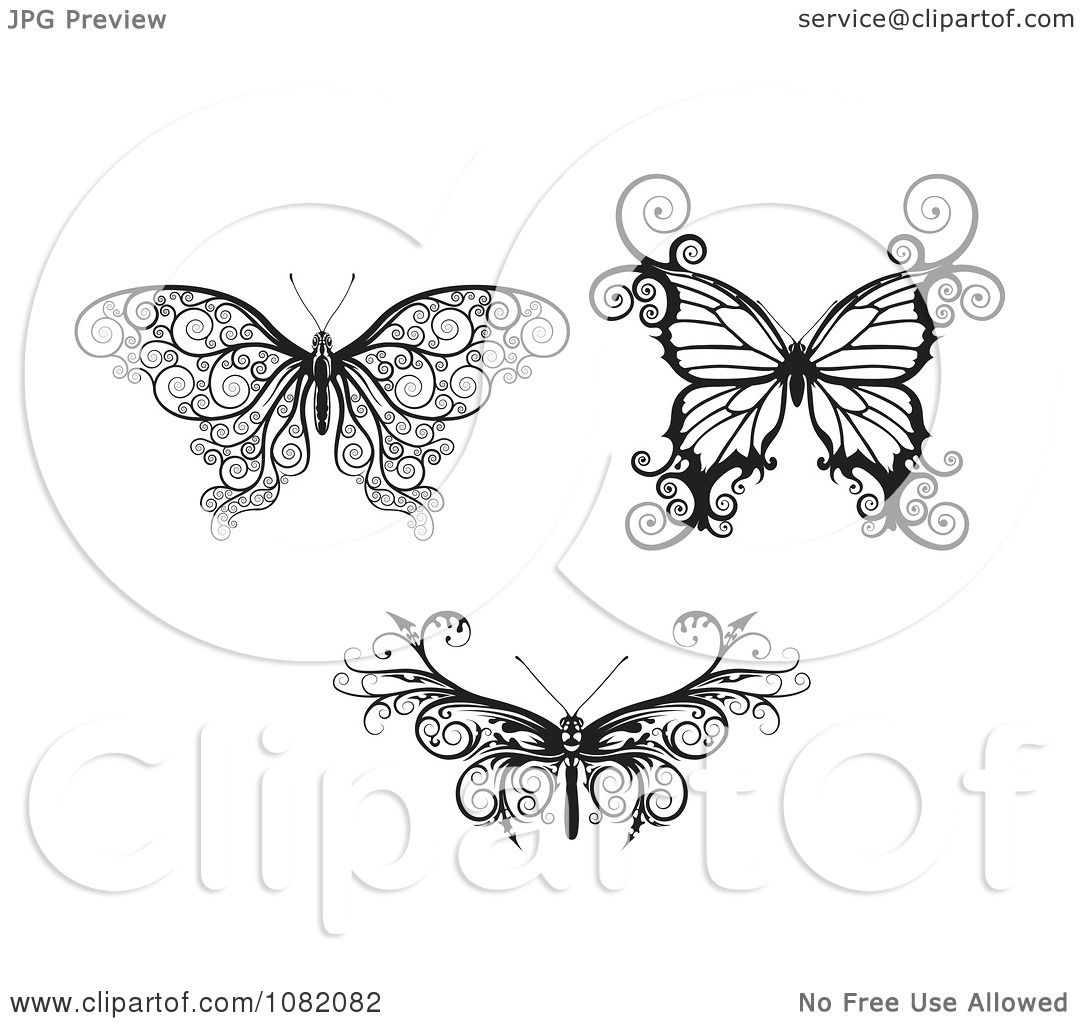 free black and white clipart of magnolia