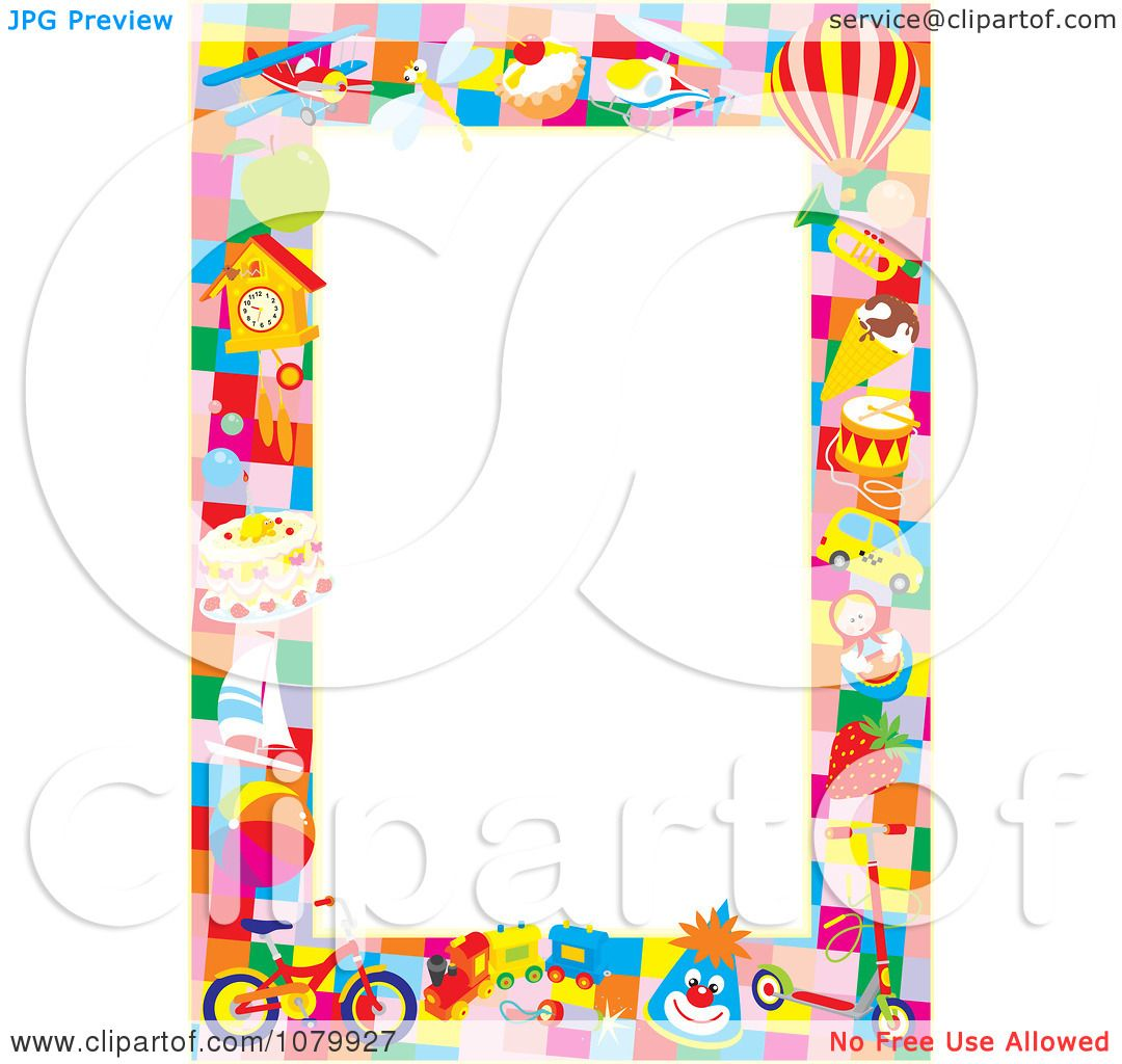 Clipart-Toy-Frame-Around-Copyspace-Royalty-Free-Vector-Illustration ...